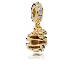 Gold Sweet As Honey Charm